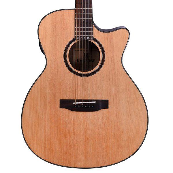 Kadence Premium Trance Semi-Acoustic Guitar XA01C