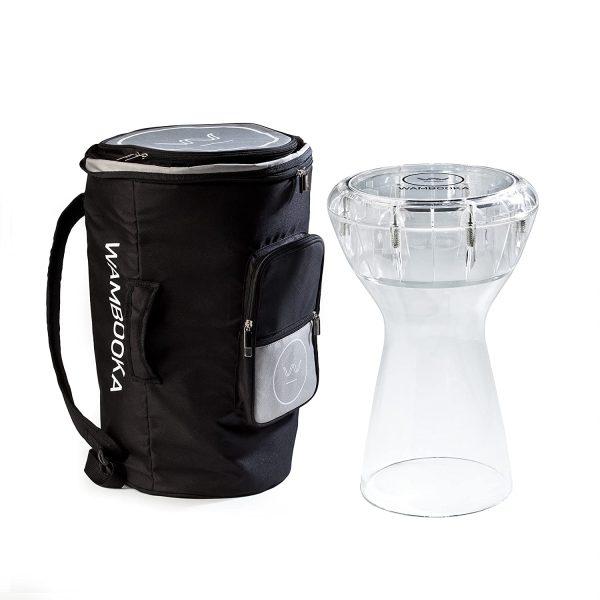 Wambooka Diamond Dry and Wet Darbooka With Bag