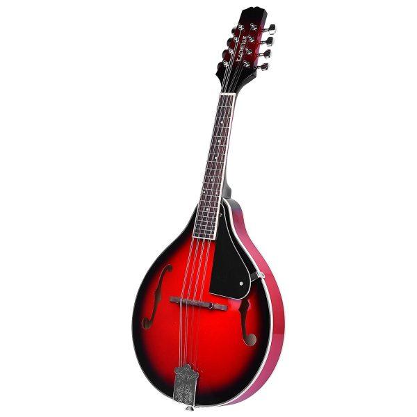 Kadence Acoustic Mandolin Red