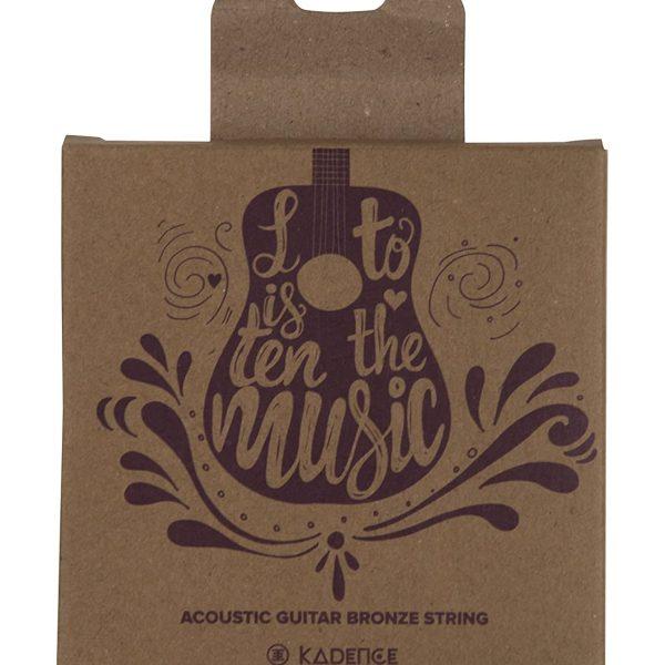 Kadence Acoustic Guitar String Phoshphor Bronze 0.011