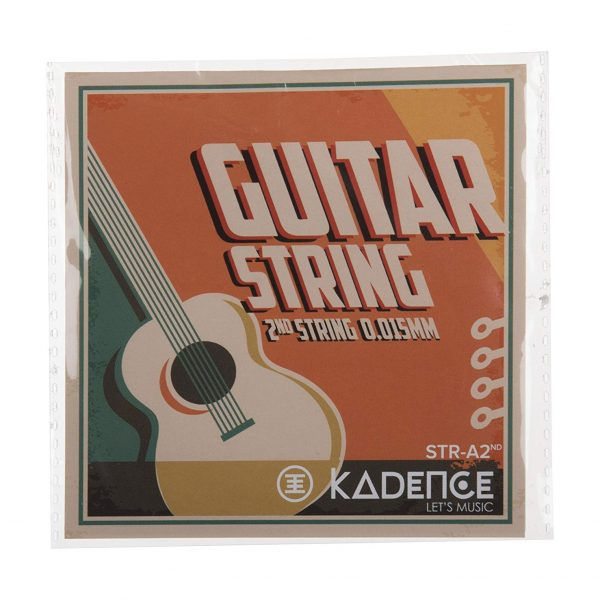 Kadence Acoustic Guitar Single 2nd B String STRA-2ND Pack of 3
