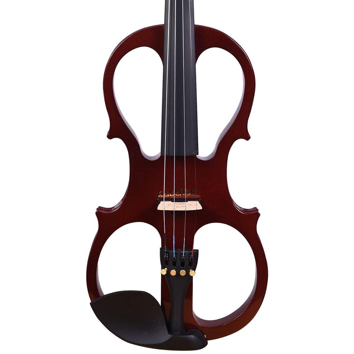 Kadence, Vivaldi 4/4 Electric Violin With Bow, Rosin, Hard Case VE100